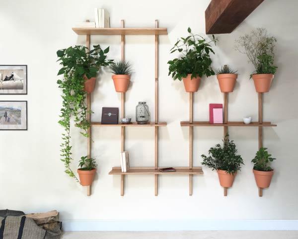 XPOT Concept pour bibliotheque vegetalisee