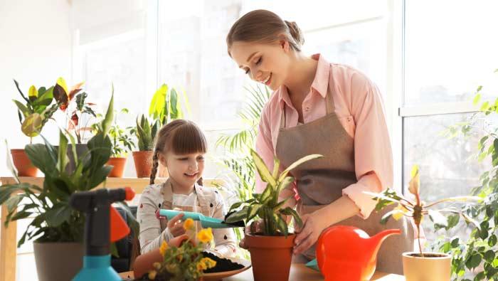 Bien chez soi avec un jardin à la maison !